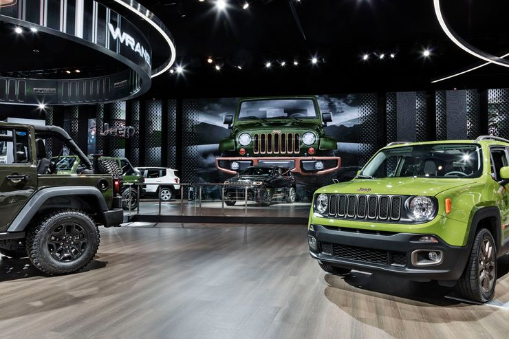 Image 1 for FCA at the North American International Auto Show