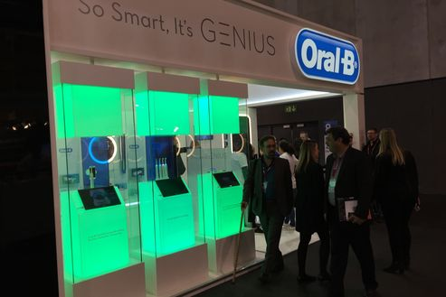 Image 1 for Oral-B at Mobile World Congress