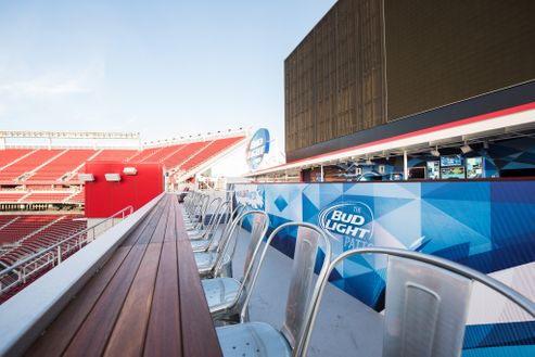 Image 2 for Bud Light Patio at Levi's Stadium