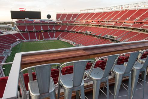 Image 4 for Bud Light Patio at Levi's Stadium