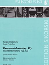 Chamber Symphony for Chamber Orchestra, Op. 92
