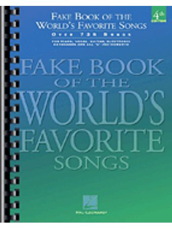 Fake Book of the World's Favorite Songs - 4th Edition