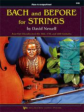 Bach And Before For Strings (Piano Accomp)