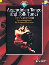 Argentinian Tango and Folk Tunes for Accordion (Book & CD)