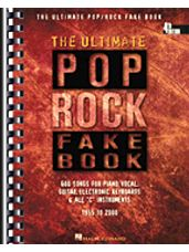 Ultimate Pop/Rock Fake Book - 4th Edition