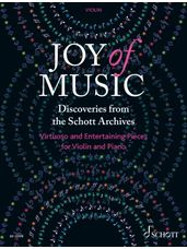 Joy of Music - Discoveries from the Schott Archives