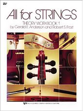 All For Strings Theory Workbook 1-Viola