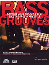 Bass Grooves (Book and CD)
