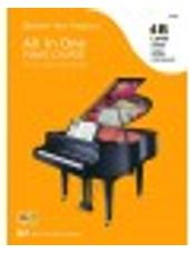 Bastien All in One Piano Course Level 4B