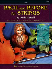 Bach And Before For Strings (Cello)