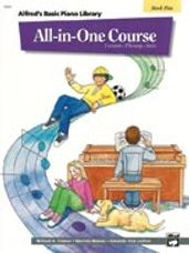 Alfred's All In One Lesson-Theory-Solo Book 5